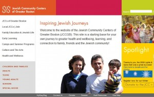 JCCs of Greater Boston website